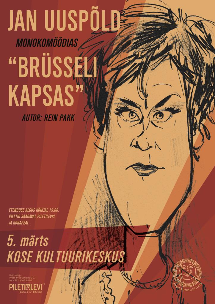 Brusseli_Kapsas_POSTER_KOSE